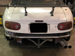 NA Miata Rear Bash Bar - Street Weapons  - Locally engineered and crafted aftermarket items for Race, drift, and street cars apparel accessories supplies electronics