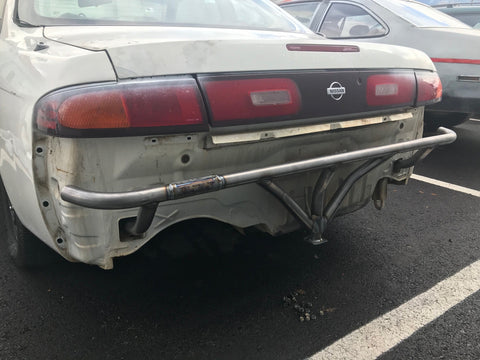 S14 Rear Bash Bar - Street Weapons Schassis - Locally engineered and crafted aftermarket items for Race, drift, and street cars apparel accessories supplies electronics