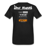 """Street Weapons & Partners"" Tee - Street Weapons Men's Premium T-Shirt - Locally engineered and crafted aftermarket items for Race, drift, and street cars apparel accessories supplies electronics"