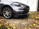 '13-'16 Dodge Dart Front Bumper Mount Splitter W/ Hardware - Street Weapons  - Locally engineered and crafted aftermarket items for Race, drift, and street cars apparel accessories supplies electronics