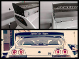 "R33 GT-R 5"" OEM Wing Blade Risers - Street Weapons  - Locally engineered and crafted aftermarket items for Race, drift, and street cars apparel accessories supplies electronics"