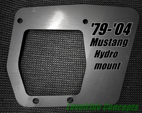 Mustang '79 - '04 Hydro Mount Bracket Kit - Street Weapons  - Locally engineered and crafted aftermarket items for Race, drift, and street cars apparel accessories supplies electronics