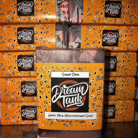 DreamTank Goat Milk Soap - Sunny Days - Street Weapons  - Locally engineered and crafted aftermarket items for Race, drift, and street cars apparel accessories supplies electronics