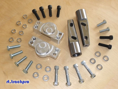 Z31 to S13 Coilover Adapter Kit W/ Optional Negative-Camber Rollcenter Adjusters