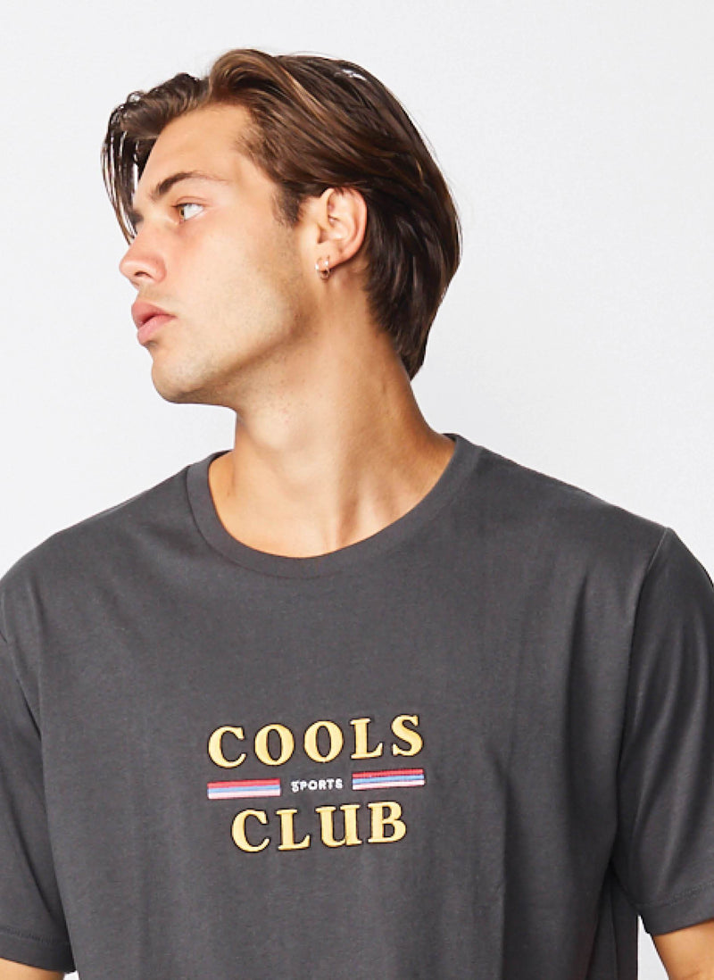 Cools Club Tee Pigment Black