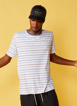 B.Thankful Tee Retro Stripe – Barney Cools 40e8fd00d81a