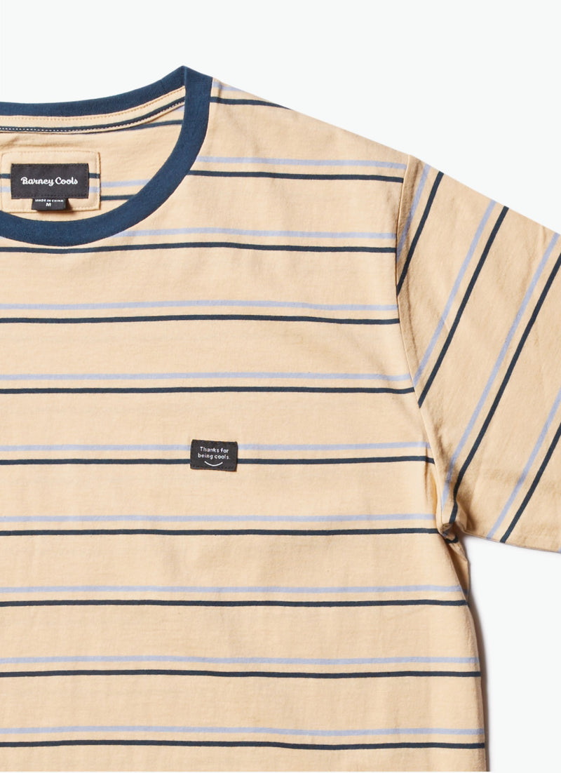 B.Thankful Tee Mustard Stripe