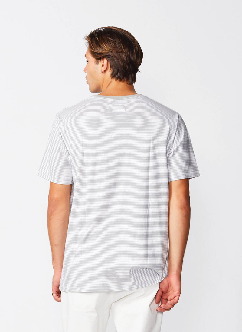 Barney Cools Tee Grey Stripe