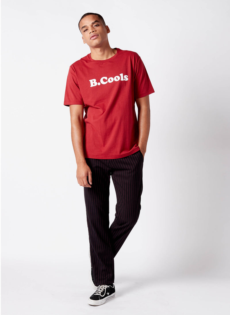 B.Cools Retro Tee Dull Red