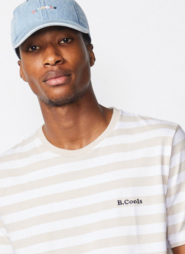 B.Cools Retro Tee Stone Stripe