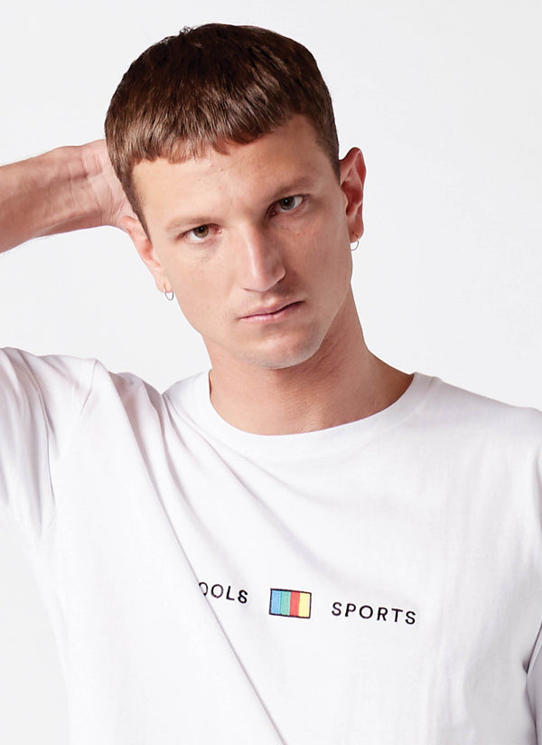 Cools Sports Tee White