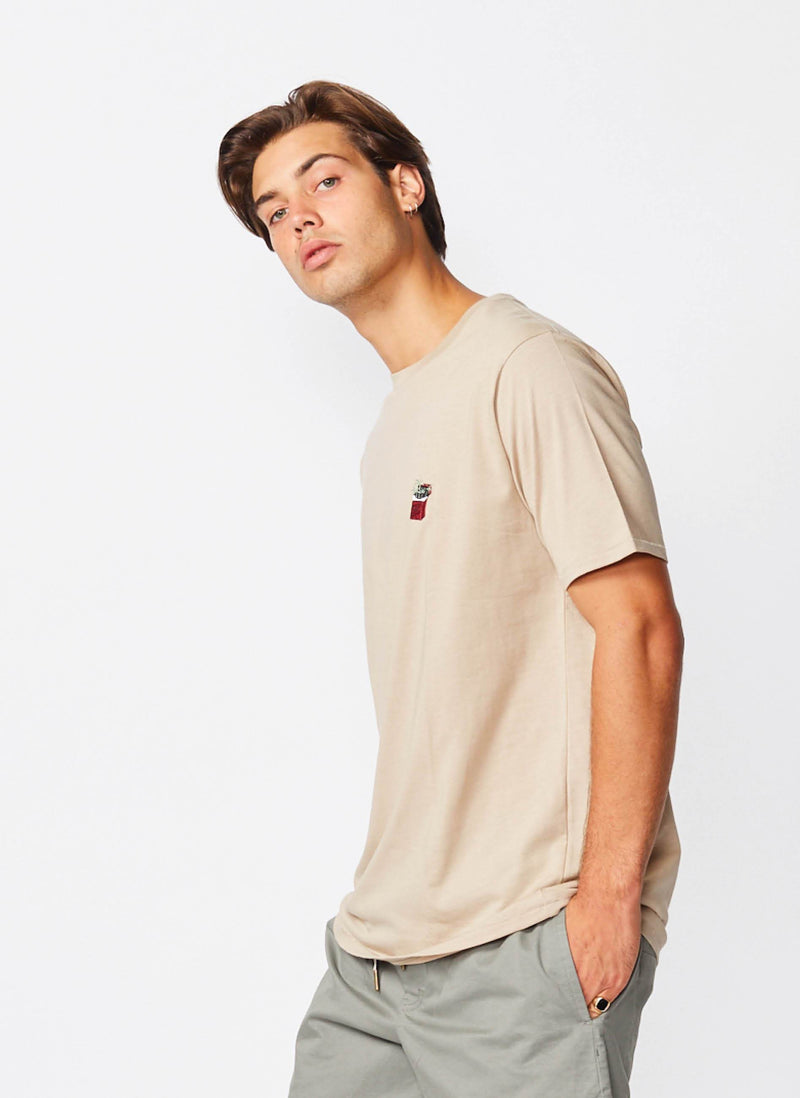 Cools Smokes Tee Beige