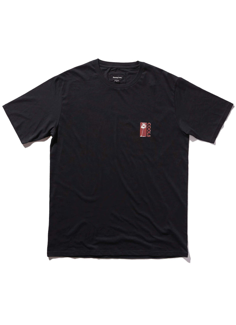 Cools Palms Tee Black