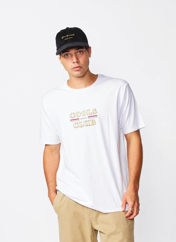 Cools Club Tee White
