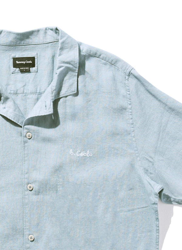 Holiday Camp-Collar Shirt Blue