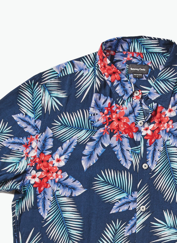 Holiday Short Sleeve Shirt Noosa Navy