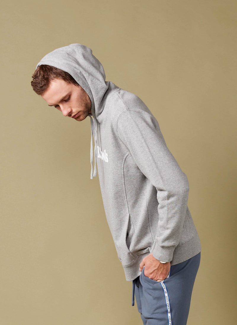 B.Cools Retro Hood Grey Melange