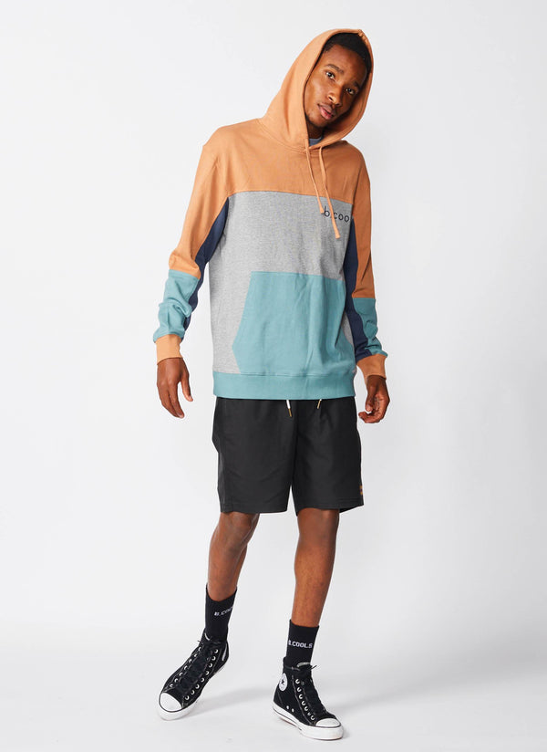 B.Quick Hood Sweatshirt Clay
