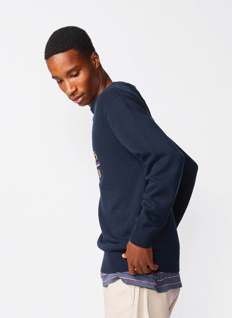 Cools Club Knit Sweater Navy