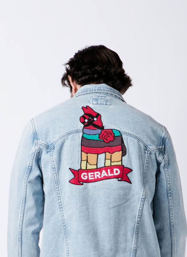 Dillon Francis x Gerald Embro Denim Jacket