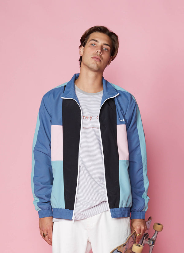 B.Quick Track Jacket Blue