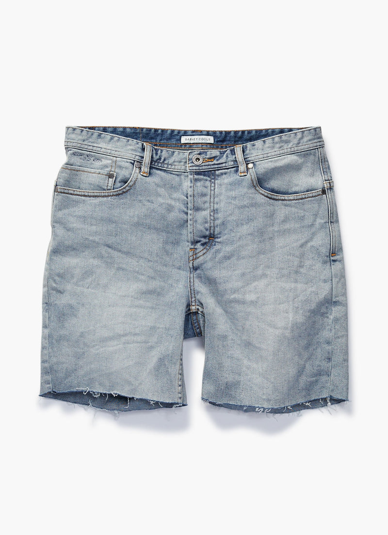 B.Slim Jean Short Heritage Wash