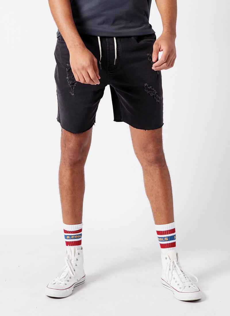 B.Relaxed Elastic Walk Short Norton Black