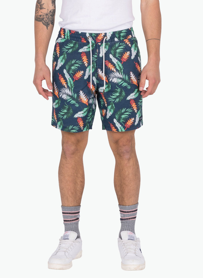 "Amphibious 17"" Beach Short Hawaiian"