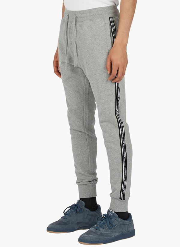B.Quick Fleece Trackpant Grey Melange