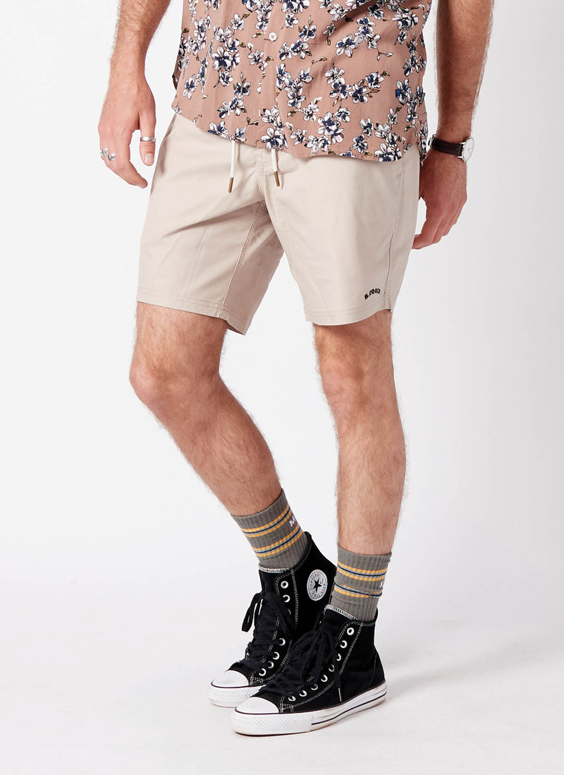 "Amphibious 17"" Swim Short Tan"
