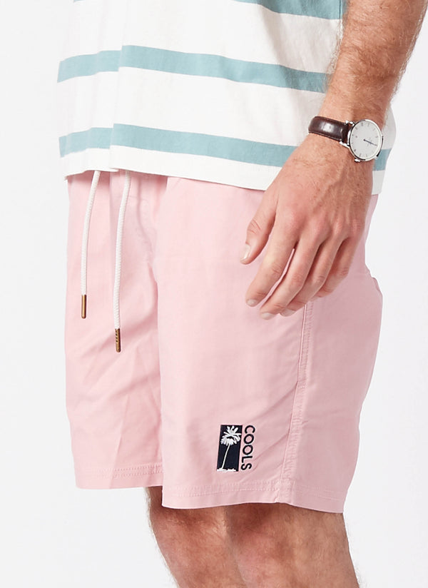"Amphibious 17"" Swim Short Pink"