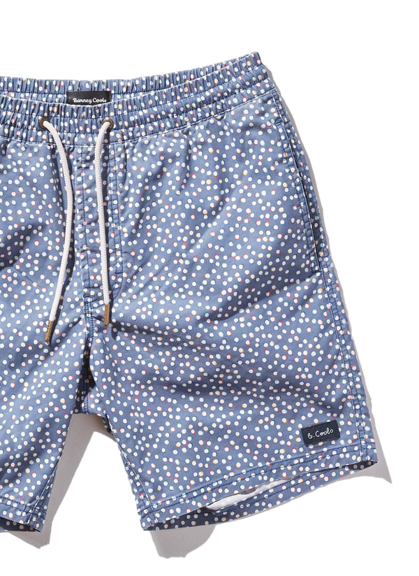 "Amphibious 17"" Swim Short Polka Party"