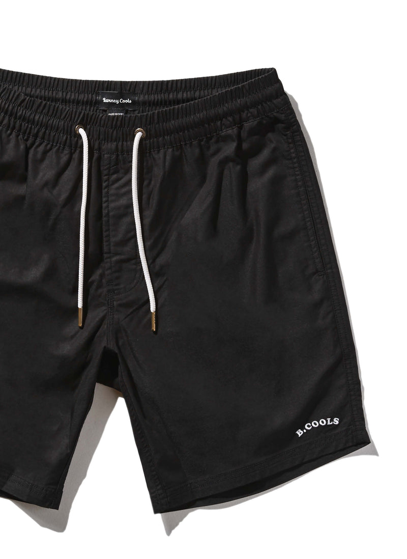 "Amphibious 17"" Swim Short Black"