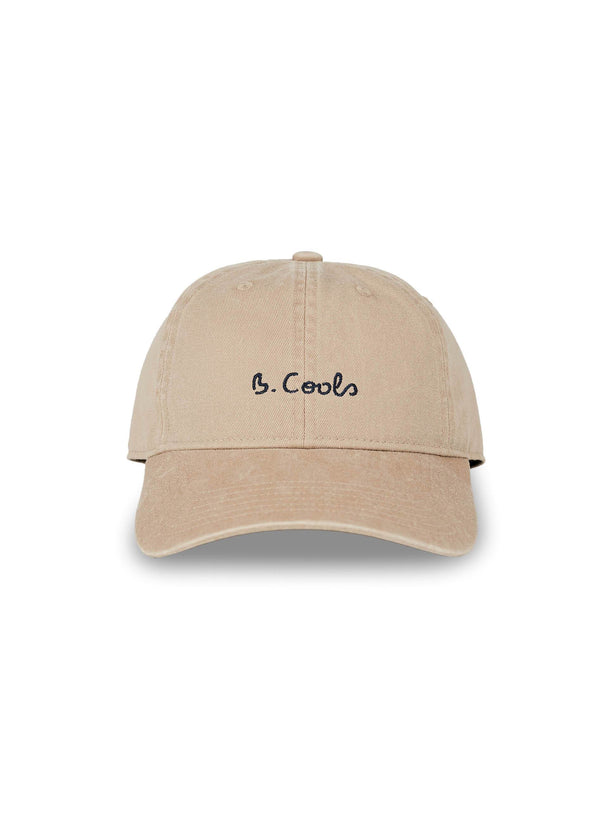 B.Cools Embro Curve Brim Tan