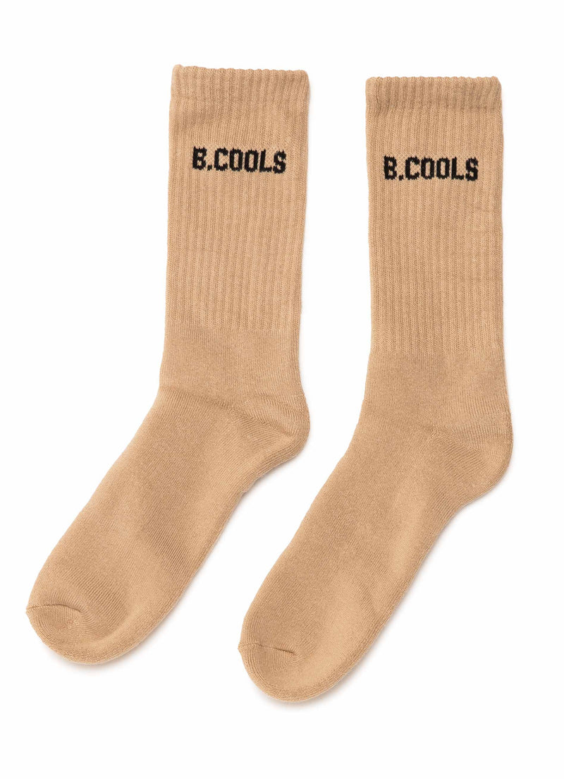B.Cools 3 Pack Sock Beige/Red/Black