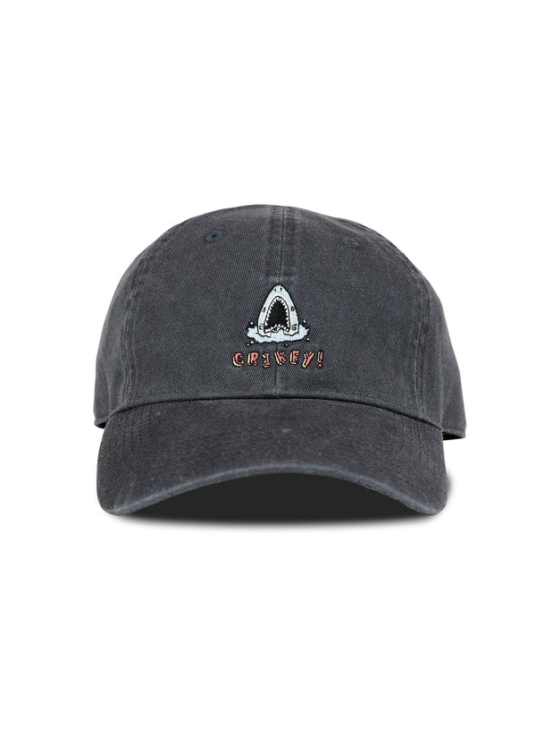 Crikey Curve Brim Washed Black