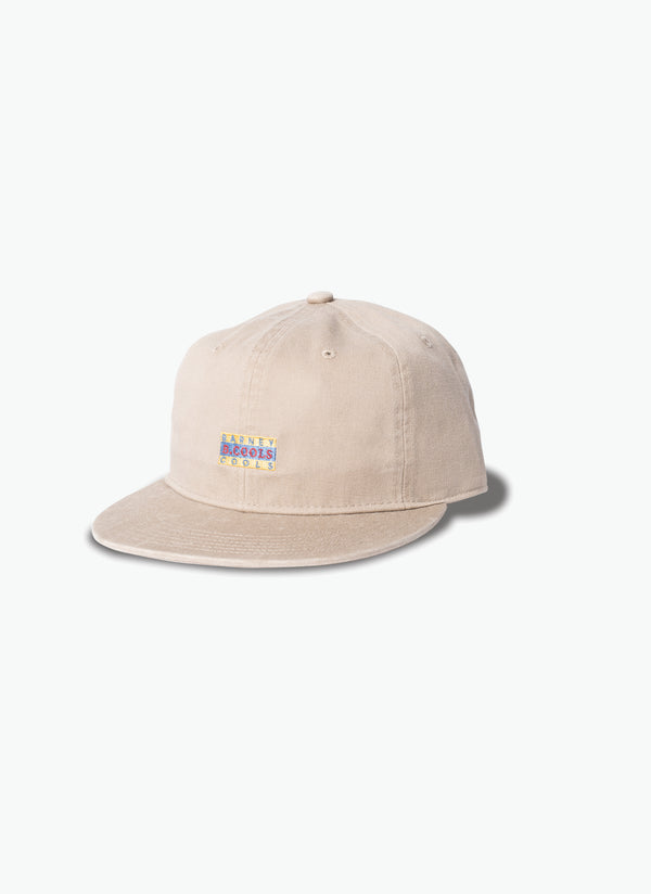 Flag Baseball 6-Panel Beige