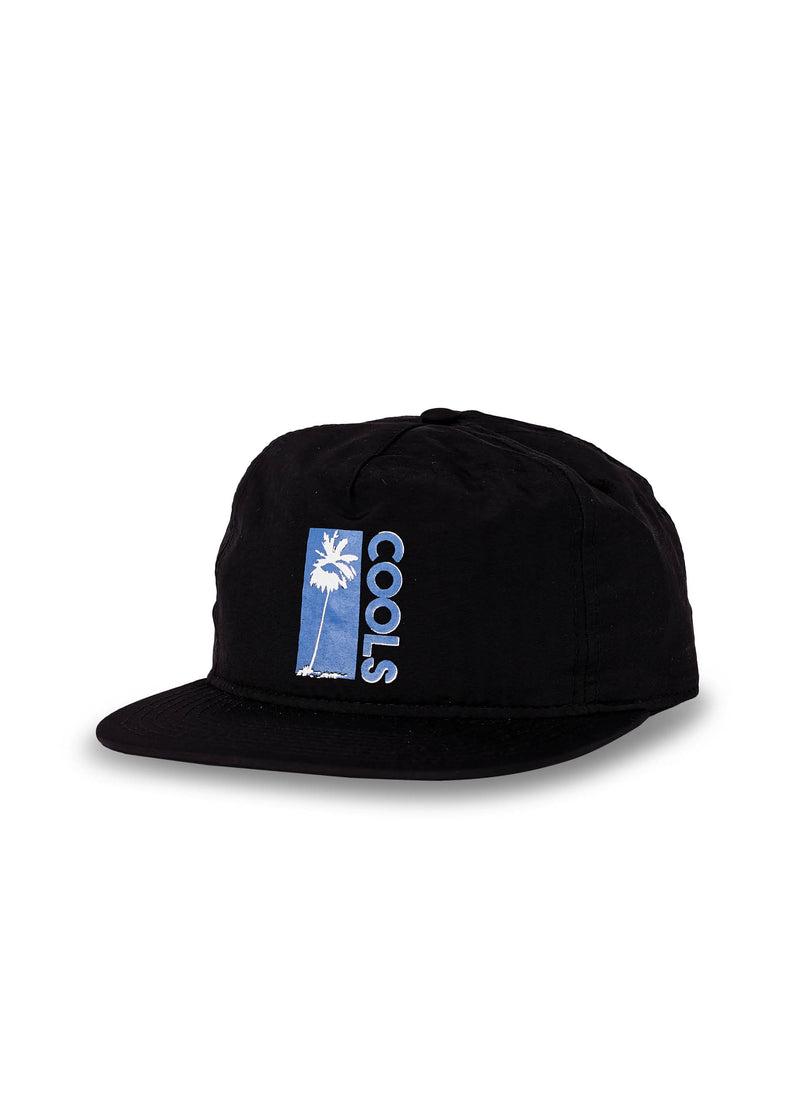 Cools Palms Nylon 5-Panel Black