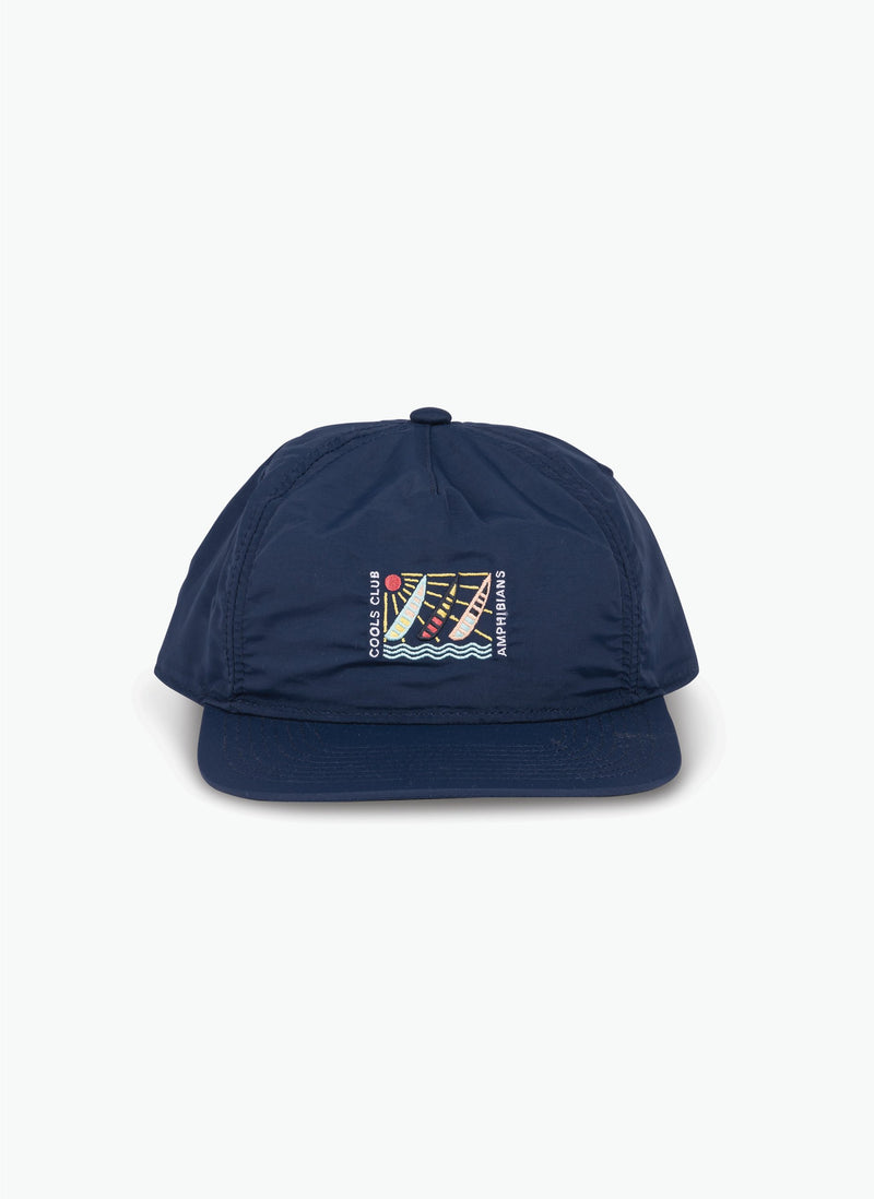 Amphibian Nylon 5-Panel Navy