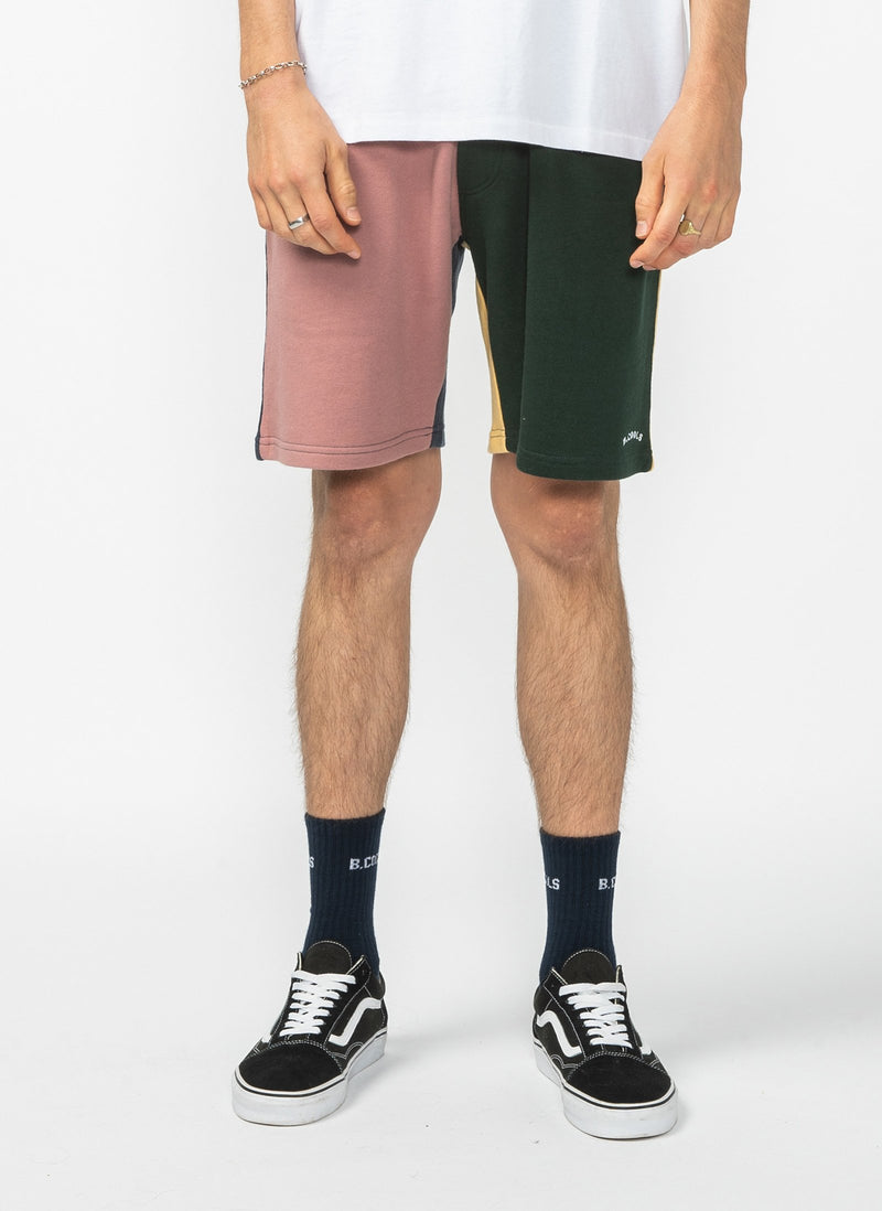 B.Quick Sweatshort Colour Block