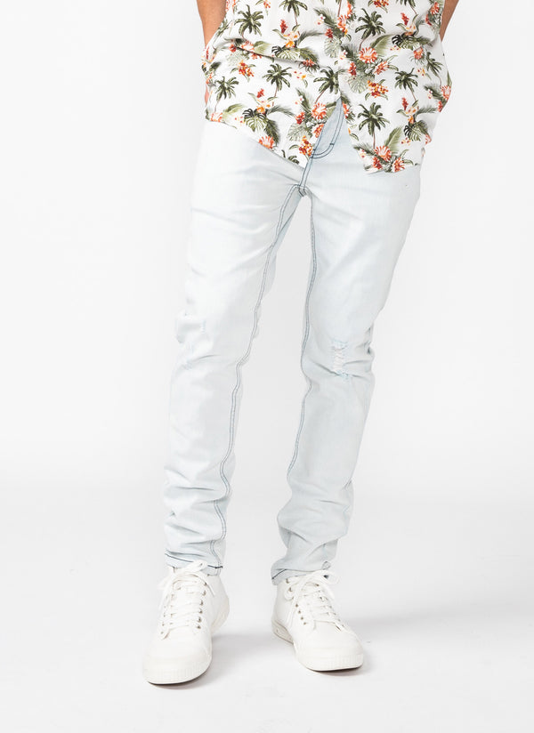 B.Slim Jean (Slim Fit) Beach Bleach