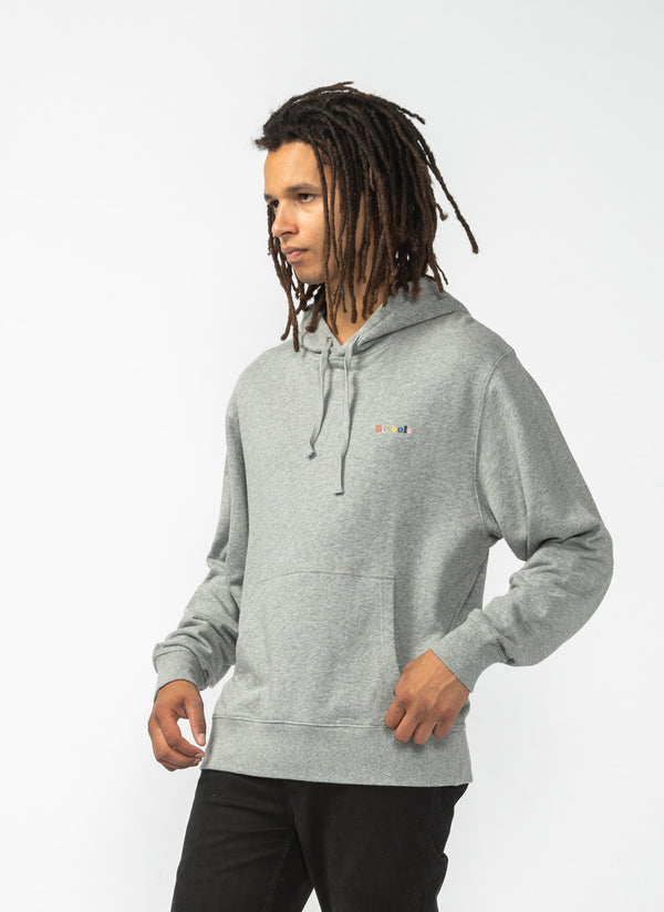 B.Cools Retro Hood Sweatshirt Grey Marle
