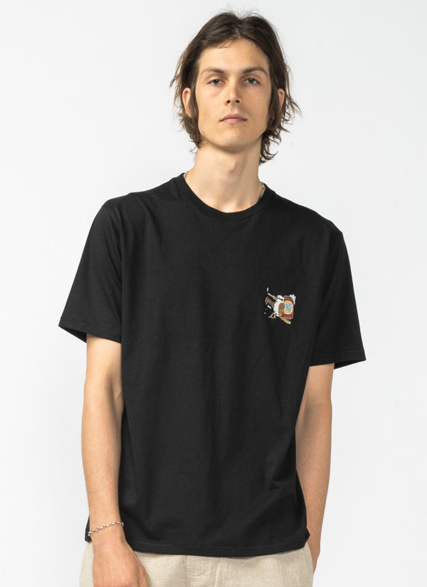 Cooked-A-Burra Tee Black