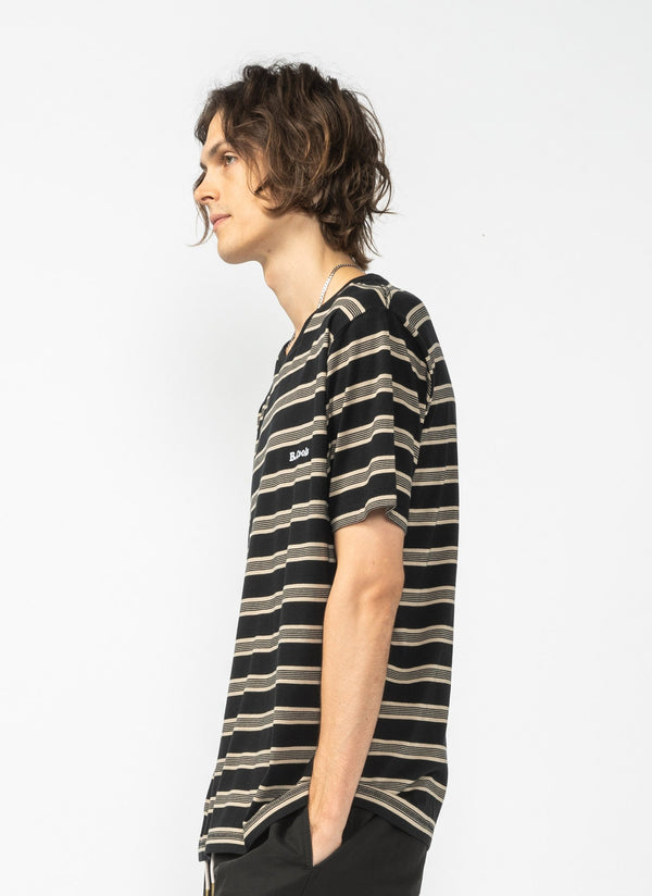 B.Cools Retro Tee Black Stripe