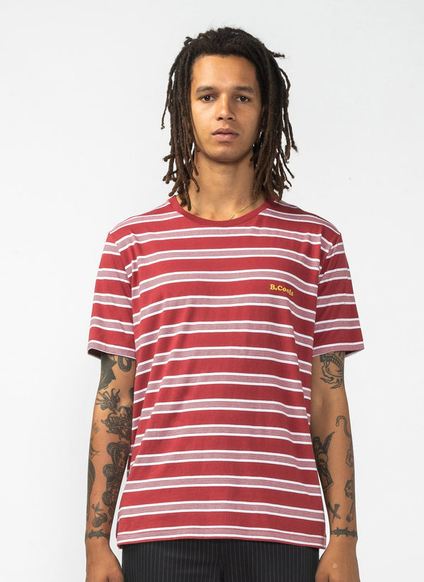 B.Cools Retro Tee Red Stripe