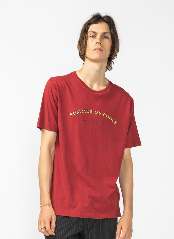 Summer of Cools Tee Dull Red