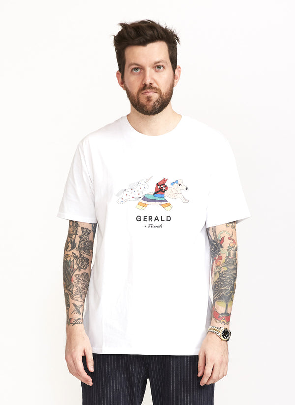 Gerald & Friends Tee White