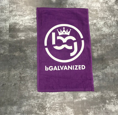 BG Purple Towel