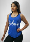 Believe Blue Tanktop