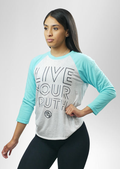 Live Your Truth Baseball Tee